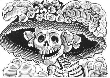 la-calavera-catrina-jose-guadalupe-posada-620x442 La Catrina - The woman of Mexico