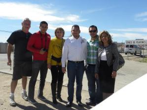 RV caravan and Peñasco Recreation make donation to Sonoyta DIF