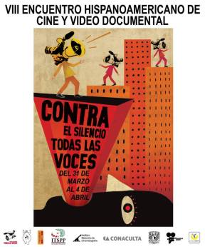 cartel-voces Documental Independiente: Contra el Silencio Todas las Voces