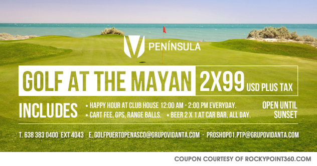 coupon-2x99-360 March Golf Specials!