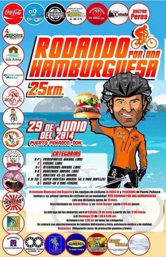 bici-burger Pelicanos de Peñasco: A passion for cycling