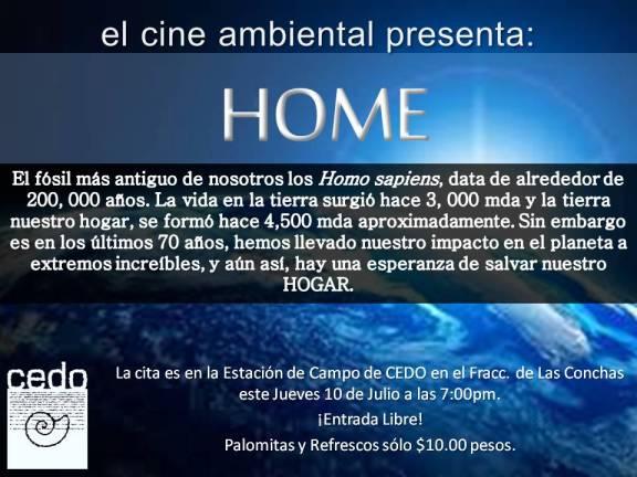 Cine Ambiental Julio