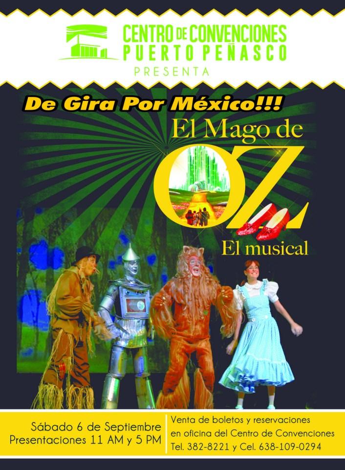 OZ-2 Mago de OZ / El Musical  6 sept