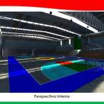 Interior-Gimnasio Federal investment in new sports infrastructure