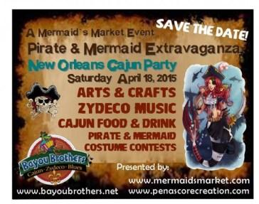 mermaids-pirates-april18-630x497 ¡Semana Santa 2015! Rocky Point Weekend Rundown!