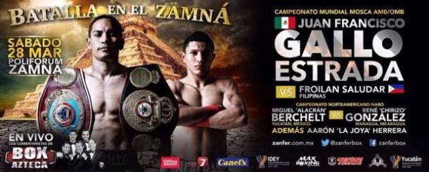 gallo-28marzo-630x253 Gallito Estrada to defend title in Mérida on Saturday