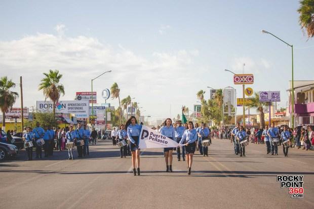 Desfile-Revolucion-Mexicana-2015-008 Aniversario de la Revolución, Puerto Peñasco 2015