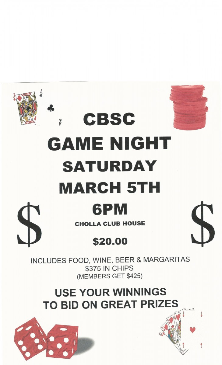 cholla-bay-poster-e1451524193725-729x1200 Save the Date: CBSC Game Night March 5