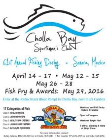 CBSC-61st-Derby-Poster-2016-927x1200 Spring! Break!  Rocky Point Weekend Rundown!
