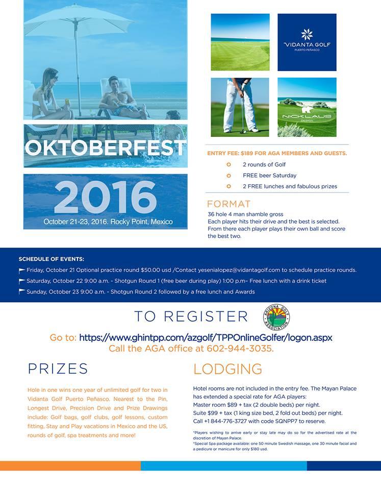 Flyer-Oktoberfest-2016-IMP Oktoberfest Golf Tournament @ Vidanta Golf