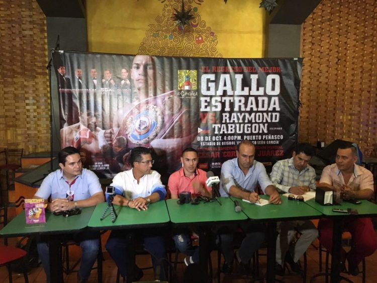 "gallo-press-conf-sept2015-1200x900 WBO / WBA Flyweight Champion Juan Francisco ""El Gallo"" Estrada Returns"