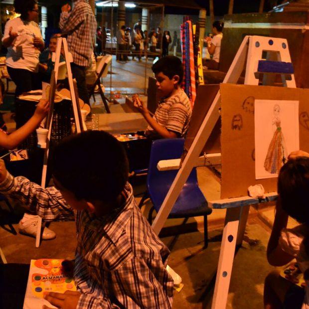 cervantino-oct2016-18 Families delight in XLIV International Cervantino Festivities in Puerto Peñasco