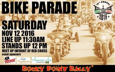 bike-parade 16th Rocky Point Rally - CALENDAR!