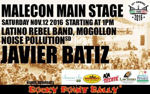 main-stage 16th Rocky Point Rally - CALENDAR!