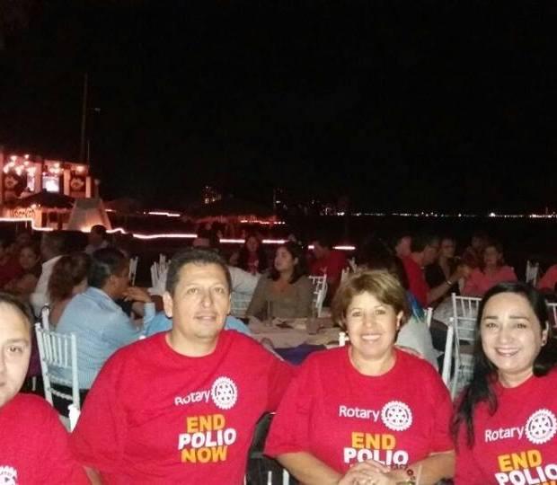 polio2 Puerto Peñasco Rotary Club raises funds for Polio Plus