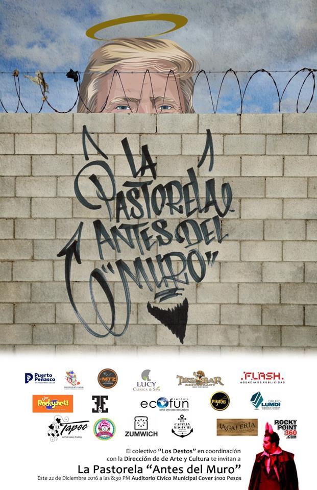 """pastorela-2016 Los Destos Pastorela 2016 """"Antes del Muro"""""""