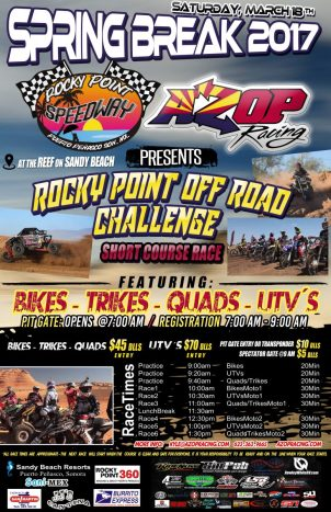 poster-azop-speedway-776x1200 RP SB2017.  Rocky Point Weekend Rundown!