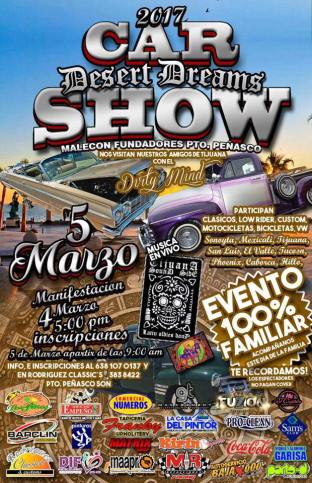 car-show-march5 ¡Carnaval! Rocky Point Weekend Rundown!