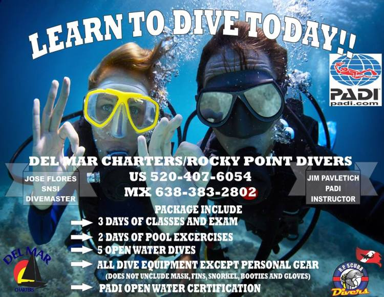 dive-english-flyer R.P. Scuba Divers open classes!