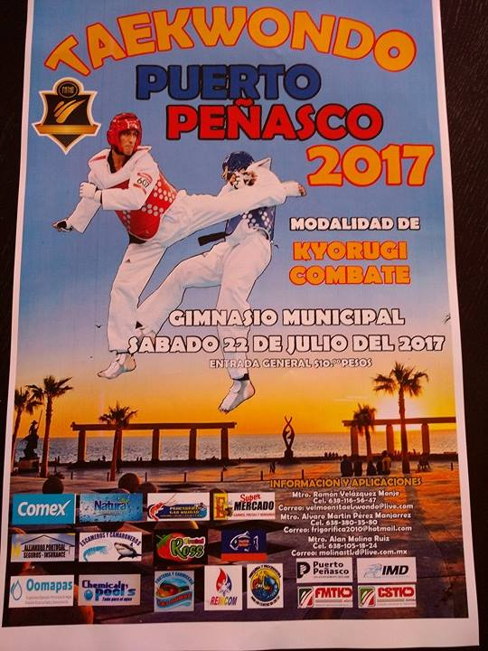 taekwondo-2 Taekwondo Puerto Peñasco - July 22nd