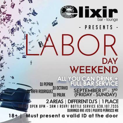 elixir-laborday How to Labor Day Weekend in Rocky Point!