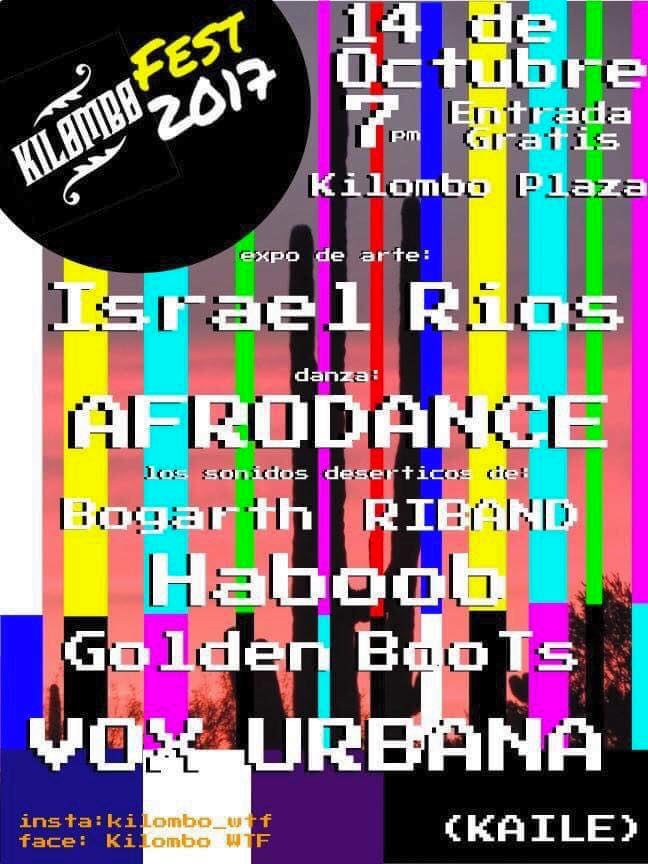 kilombo-fest-cartel 5 de mayo Rocky Point Weekend Rundown!