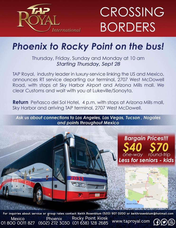tap-bus-line TAP Royal starts bus connection between Peñasco – Phoenix