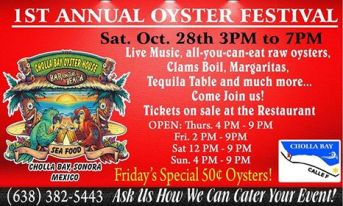 oyster-festival-oct-28 Just say Boo!  Rocky Point Weekend Rundown!
