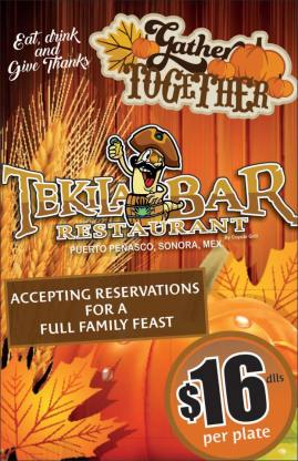 thanksgiving-tekilabar 2017 Thanksgiving ideas!
