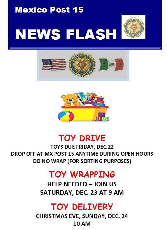american-legion-toy-drive American Legion Toy Drive!