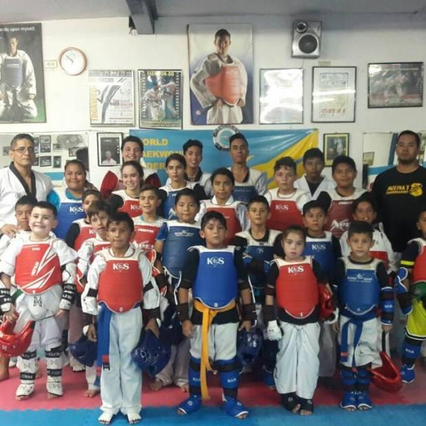 ramon-taekwondo-clase El Taekwondo mexicano es potencia mundial y Puerto Peñasco está en el medallero