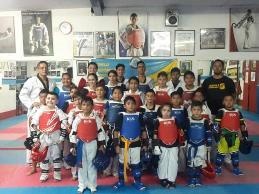 ramon-taekwondo clase