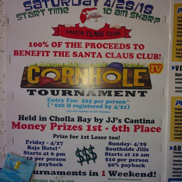 cornhole-tournament Child's Play! Rocky Point Weekend Rundown!