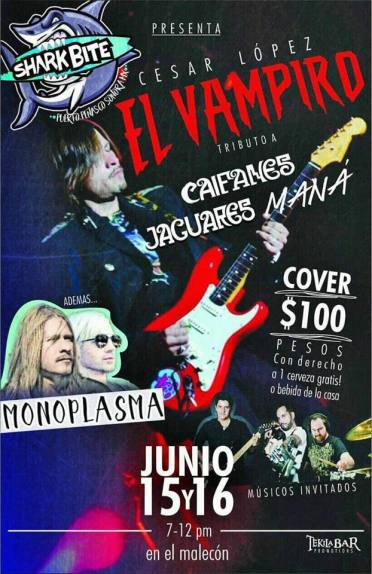 flyer-vampiro ¡Qué Padre! Rocky Point Weekend Rundown!