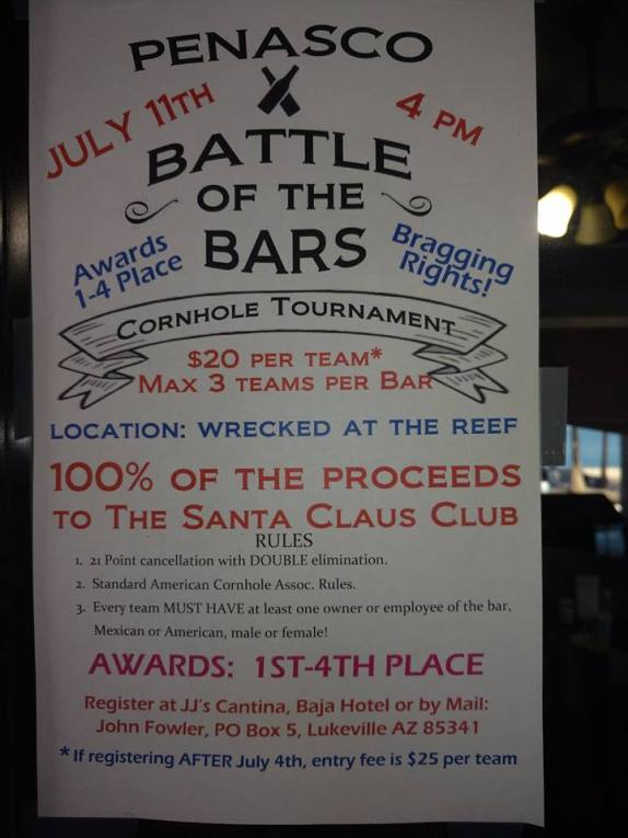 battle-of-the-bars-july11 ¡Qué Padre! Rocky Point Weekend Rundown!