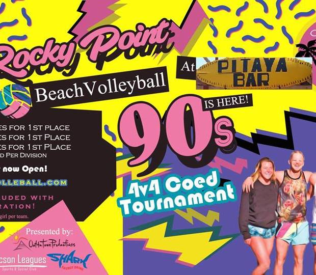 volleyball-90´s Labor Day in Rocky Point!  RP Weekend Rundown!