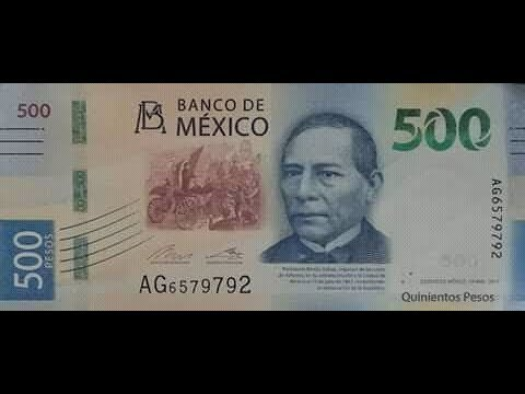 billete-500 New look for Mexican 500 peso bill