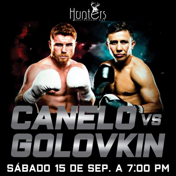 canelo-Hunters In the ring!  Mexico boxing favorites