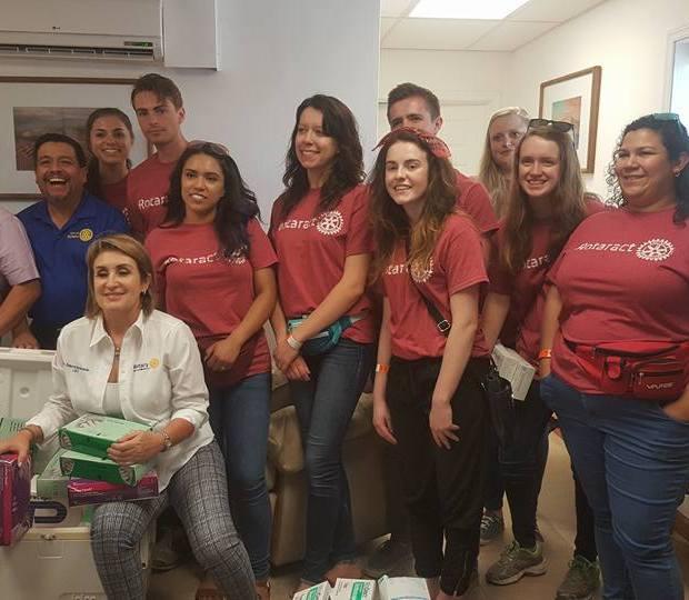 junio-2018-Rotaract-UT-en-Peñasco-2 Peñasco Rotary Club delivers school supplies to local middle school