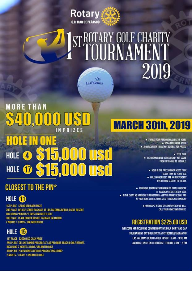 poster-golf Welcome to 2019! Rocky Point Weekend Rundown