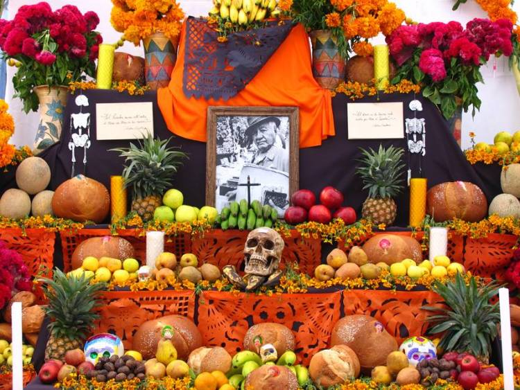 altares-de-muertos Day of the Dead celebrations in Rocky Point