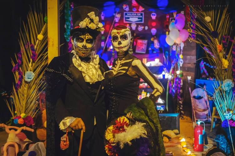 catrinas Day of the Dead celebrations in Rocky Point