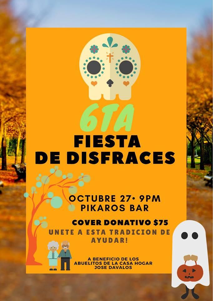 fiesta-disfraces-Pikaros Halloween Fiestas in Rocky Point!