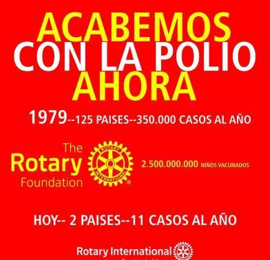 pongamos-fin-a-la-polio Fue un éxito comida más grande del mundo del Club Rotario Mar de Cortez