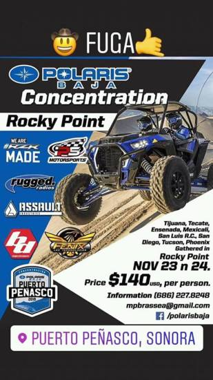 polaris-baja-concetration November Funky! Rocky Point Weekend Rundown!