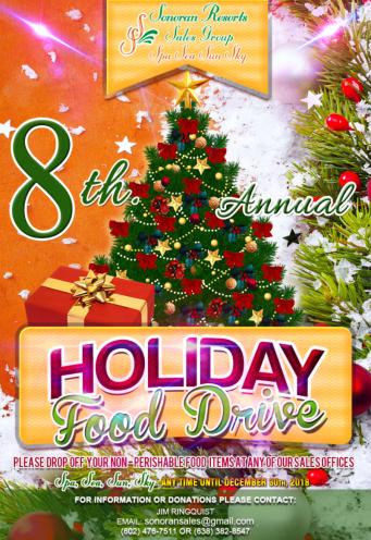 sonoran-resorts-food-drive Decemberrrr! Start your engines! Rocky Point Weekend Rundown