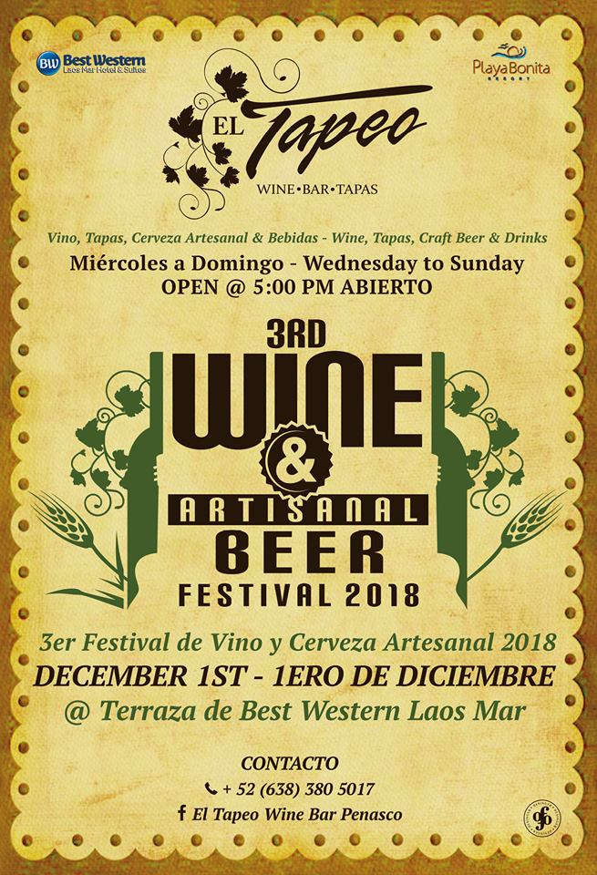 wine-fest-diciembre Jam on!  Rocky Point Weekend Rundown!
