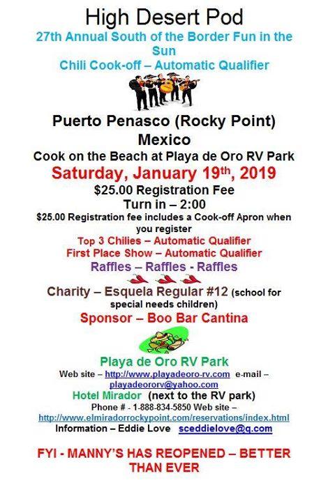 chili-cook-offs-jan Jam on!  Rocky Point Weekend Rundown!