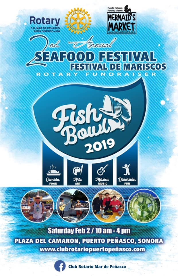 "2nd Annual Festival de Mariscos ""Fish Bowl"" Seafood Fest & Mermaid's Market @ Shrimp Plaza"