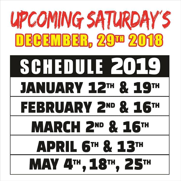 speedway Racing through January! Rocky Point Weekend Rundown!